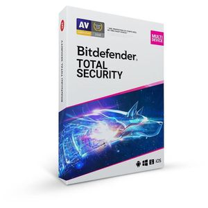 ANTIVIRUS Bitdefender Total Security 2020 - 10 appareils - 2