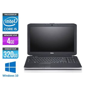 PC RECONDITIONNÉ Pc portable Dell E5530 - i5 3320M - 4Go - 320Go -