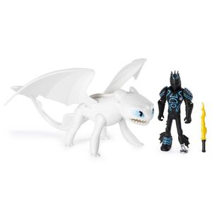 FIGURINE - PERSONNAGE DRAGONS 3 Pack Figurines Dragon & Viking - Harold