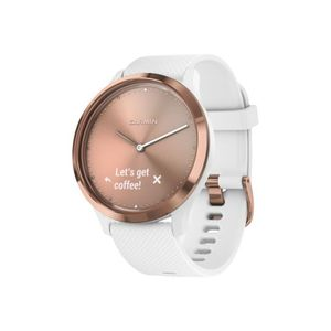 Montre connectée sport GARMIN Vivomove HR Montre connectée hybride - Rose