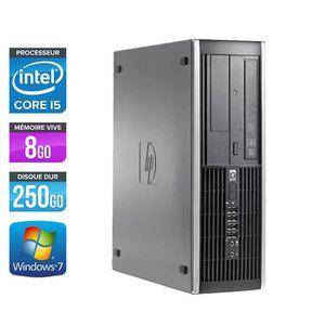 UNITÉ CENTRALE  PC HP Elite 8200 - Core i5 - 3.10GHz - 8Go - 250Go
