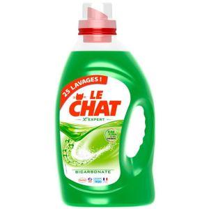 LESSIVE LE CHAT Expert Bicarbonate 25 Lavages 1.875l