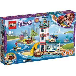 ASSEMBLAGE CONSTRUCTION LEGO® Friends 41380 Le centre de sauvetage du phar