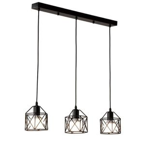LUSTRE ET SUSPENSION Métal Retro Suspension Luminaire Industrielle lust