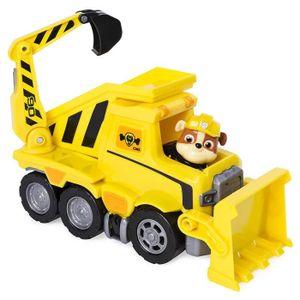 FIGURINE - PERSONNAGE PAT PATROUILLE Véhicule Camion de chantier de Rube