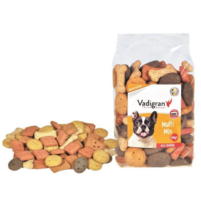 VADIGRAN Biscuits Multi Mix - 500 g - Pour chiens