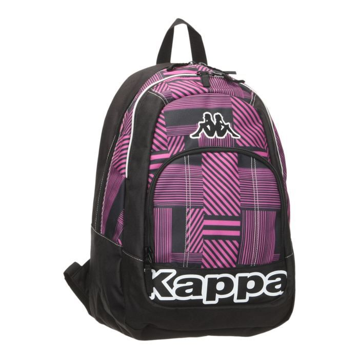kappa sac dos fancy mixte rose et noir achat vente sac dos kappa sac dos gar on. Black Bedroom Furniture Sets. Home Design Ideas