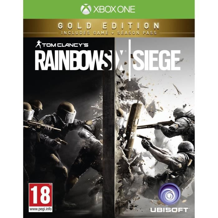 Rainbow Six Siege Edition Gold Jeu Xbox One