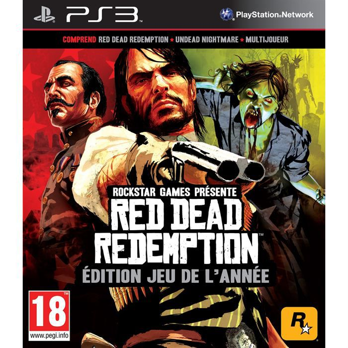 JEU PS3 Red Dead Redemption Goty PS3