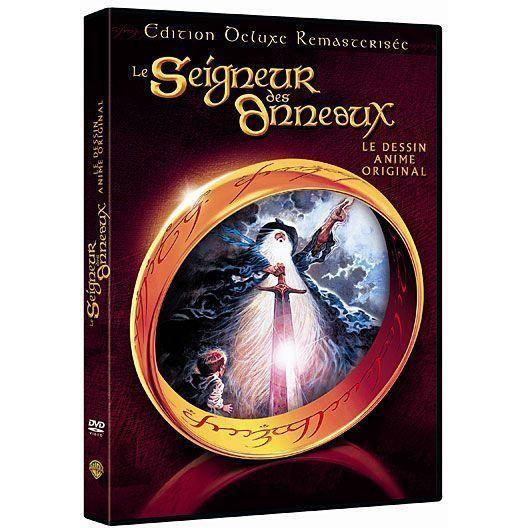DVD Le seigneur des anneaux, l'anime