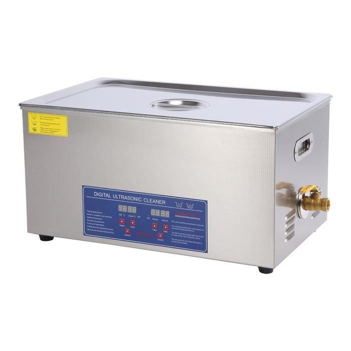 LIA 15L Nettoyeur Ultrason Numérique Machine de Nettoyage