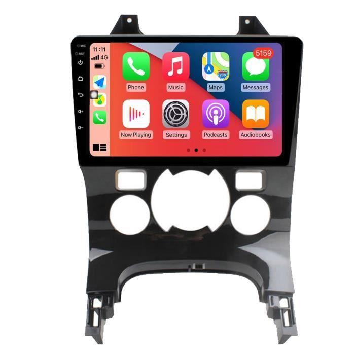 RoverOne Autoradio GPS Bluetooth pour Peugeot 3008 2009 - 2015 Android Stéréo Navigation Écran Tactile / Climatisation Automatique