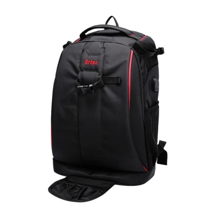 1 Pc 32x20x47cm Durable professionnel étanche sac à dos pour appareil photo pour ordinateur SAC A DOS - SAC PHOTO - OPTIQUE