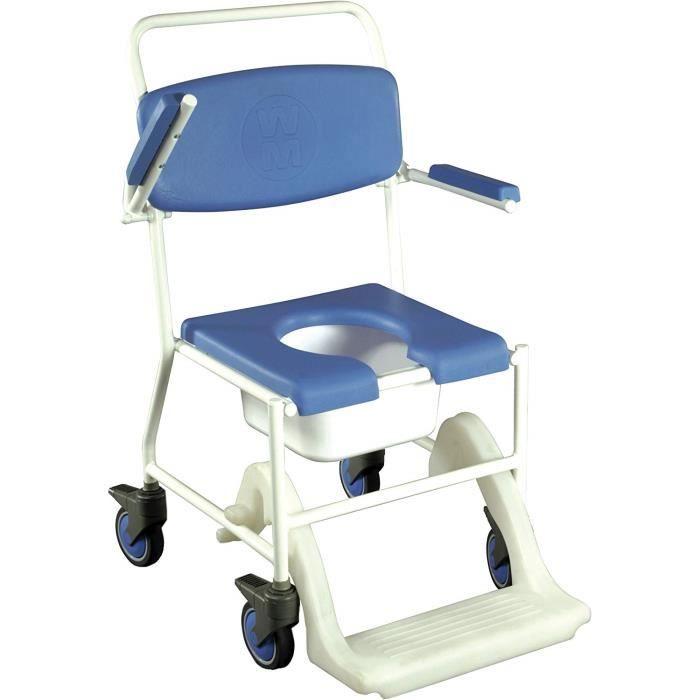 Nottingham Rehab Supplies Chaise mobile pour douche et toilettes - M12938
