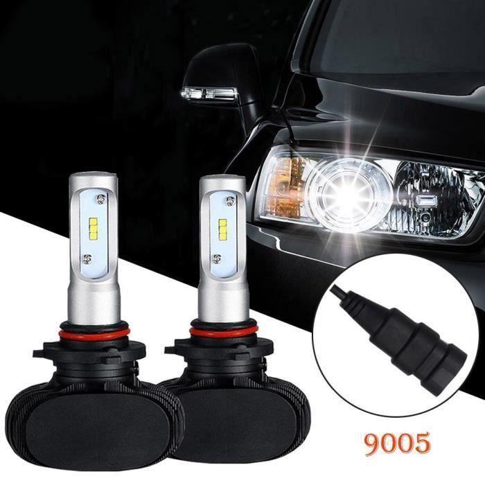 Aukur 9005 HB3 LED Phare Anti-brouillard Ampoule Lampe Feux Avant Voiture 6500K 50W 8000LM L239 @JBL