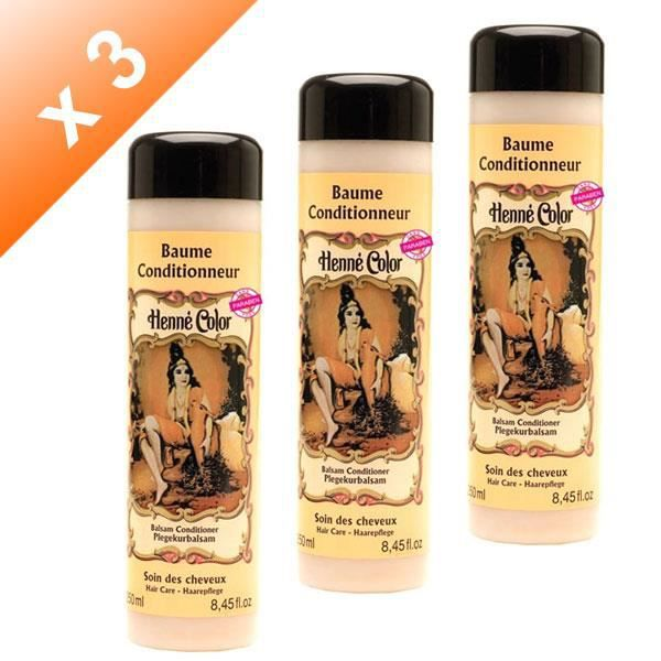 Lot de 3 Baumes conditionneur - 250ml