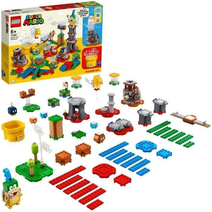 LEGO® Super Mario™71380 Set de créateur Invente ton aventure extension du Pack de Démarrage LEGO Super Mario Les Aventures de Mario