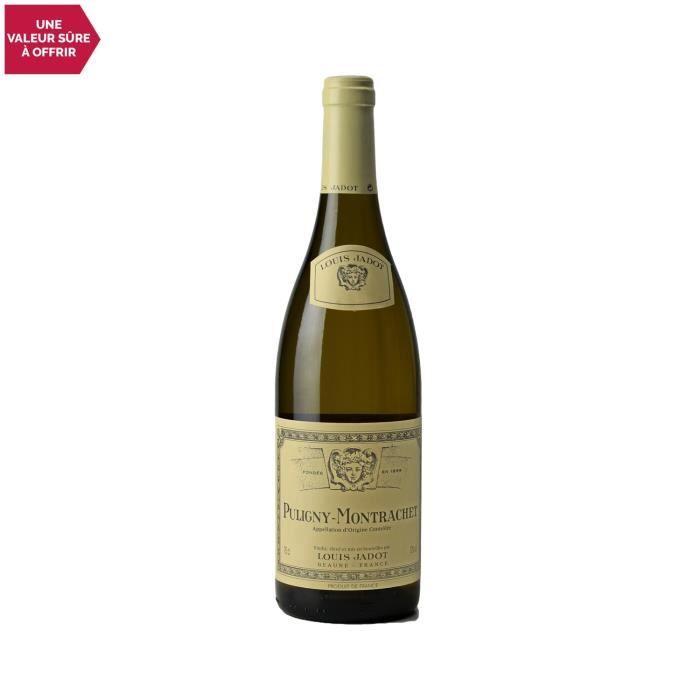 Puligny-Montrachet Blanc 2018 - 75cl - Louis Jadot - Vin AOC Blanc de Bourgogne - Cépage Chardonnay