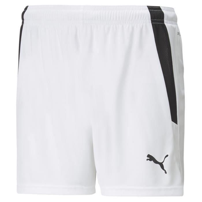 Short femme Puma Team Liga - blanc/noir - S