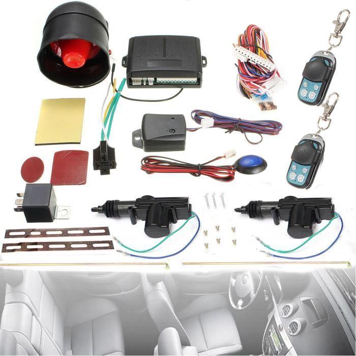U Kit Universel Télécommande Protection Sécurité Central Alarme Antivols Capteur