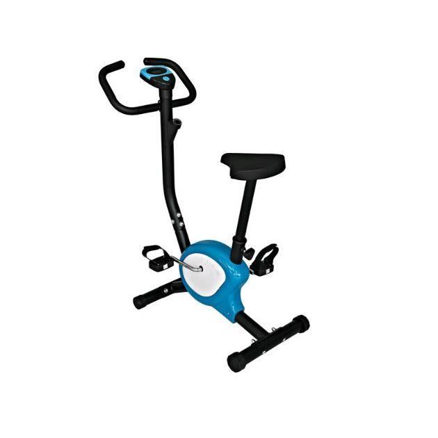 TEMPSA Vélo d'appartement entraînement perdre du poids équipement Bleu Noir