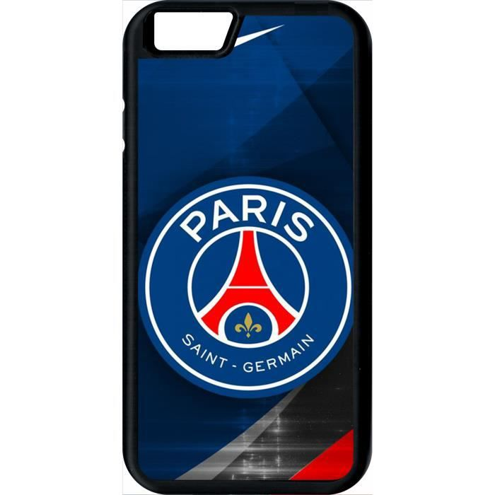 coque apple iphone 6 psg paris saint germain metal
