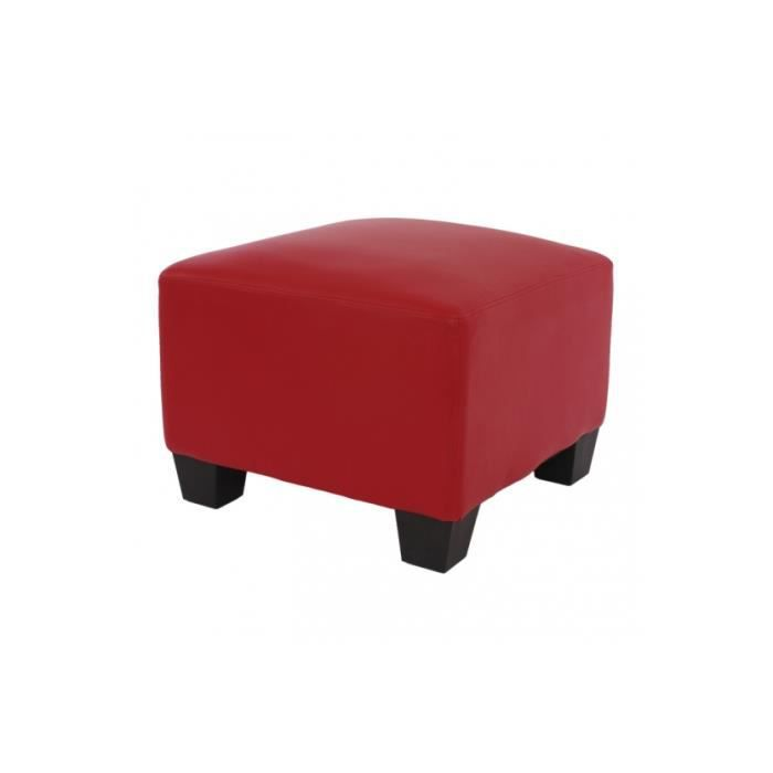 pouf rouge en similixuir achat vente pouf poire soldes d s le 10 janvier cdiscount. Black Bedroom Furniture Sets. Home Design Ideas