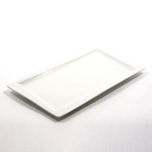 Assiette design rectangulaire