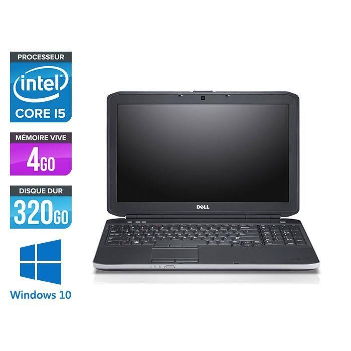 ORDINATEUR PORTABLE Pc portable Dell E5530 - i5 3320M - 4Go - 320Go -