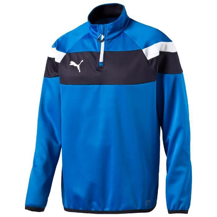 training top puma spirit ii bleu junior equipement