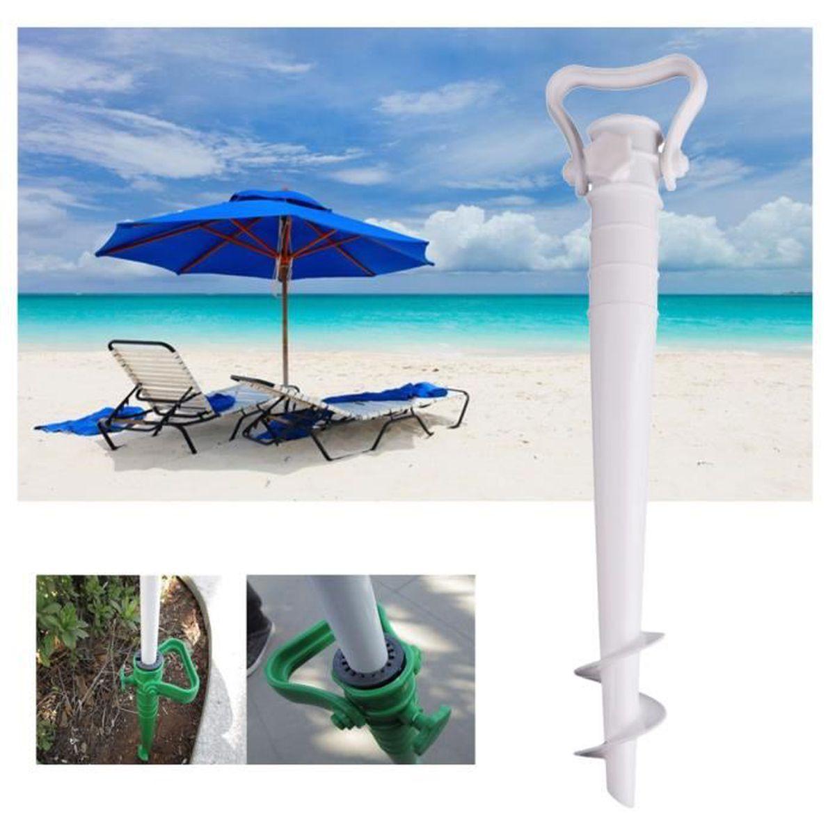 Homyl Parasol Support Pour Plage Sable blanc