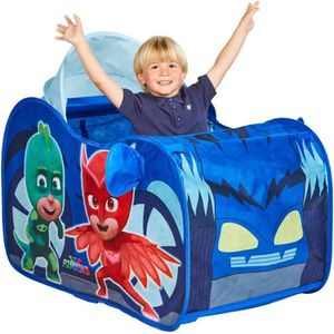 TENTE TUNNEL D'ACTIVITÉ PJ Masks PYJAMASQUES,167PJM Tente de jeu pop-up Yo