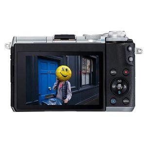 APPAREIL PHOTO RÉFLEX Canon EOS M6 Appareil photo hybride + EF-M 15-45 m