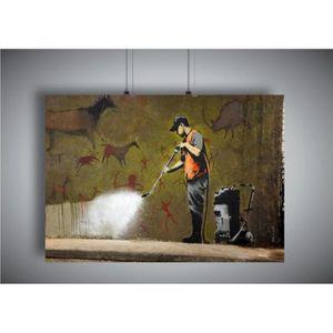 AFFICHE - POSTER Poster BANKSY STREET Tencil Art GRAFFITI Wall Art
