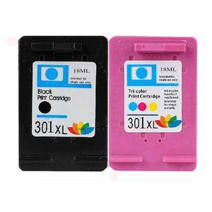 CARTOUCHE IMPRIMANTE Cartouche d'encre HP 301XL 2X pour imprimante HP D
