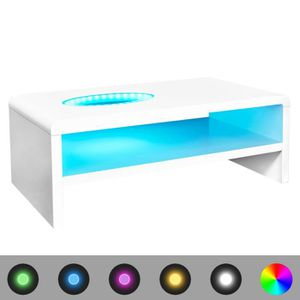 Table basse led achat vente table basse led pas cher - Table basse led pas cher ...