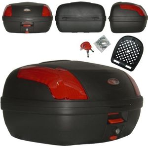 TOP CASE Top Case Moto Touring Bagage Coffer Valise Fermetu