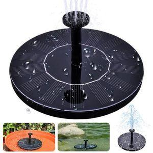 FONTAINE DE JARDIN fontaine de bain oiseau solaire ?? pompe à eau de