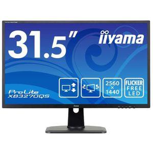 ECRAN ORDINATEUR Iiyama XB3270QS-B1 Ecran PC LED 32