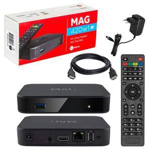 BOX MULTIMEDIA MAG 420w1 Original Kit Infomir & HB-DIGITAL IPTV 4
