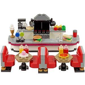 ASSEMBLAGE CONSTRUCTION Jeu D'Assemblage LEGO USWFF restaurant - restaurat