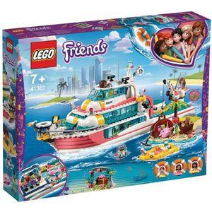 ASSEMBLAGE CONSTRUCTION LEGO® Friends 41381 Le bateau de sauvetage