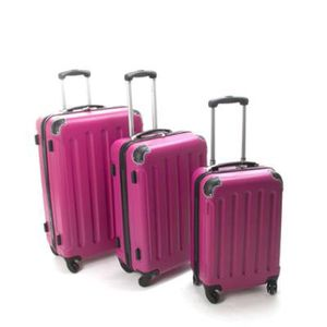 SET DE VALISES Paris Prix - Set de 3 Valises Rose