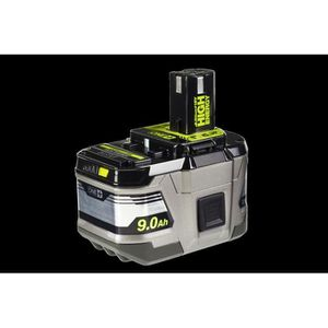 BATTERIE MACHINE OUTIL RYOBI 1 batterie lithium+ 18 Volts - 9,0 Ah