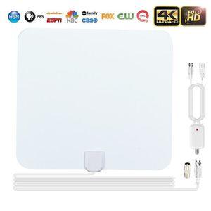 ANTENNE RATEAU UMIWE Antenne TV Intérieur HD 1080p Blanc