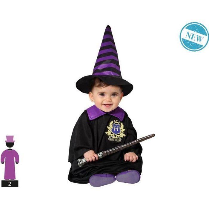 Déguisement Magicien - Bébé Unisex - Noir - Etudiant en sorcellerie