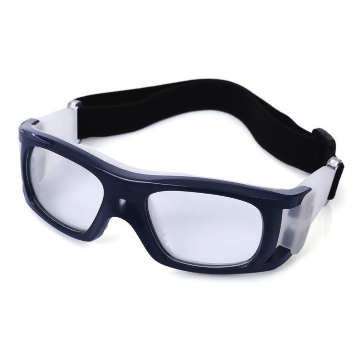 Basket lunettes vélo de football lunettes de sport lunettes lunettes de protection de la sécurité des yeux - Blue