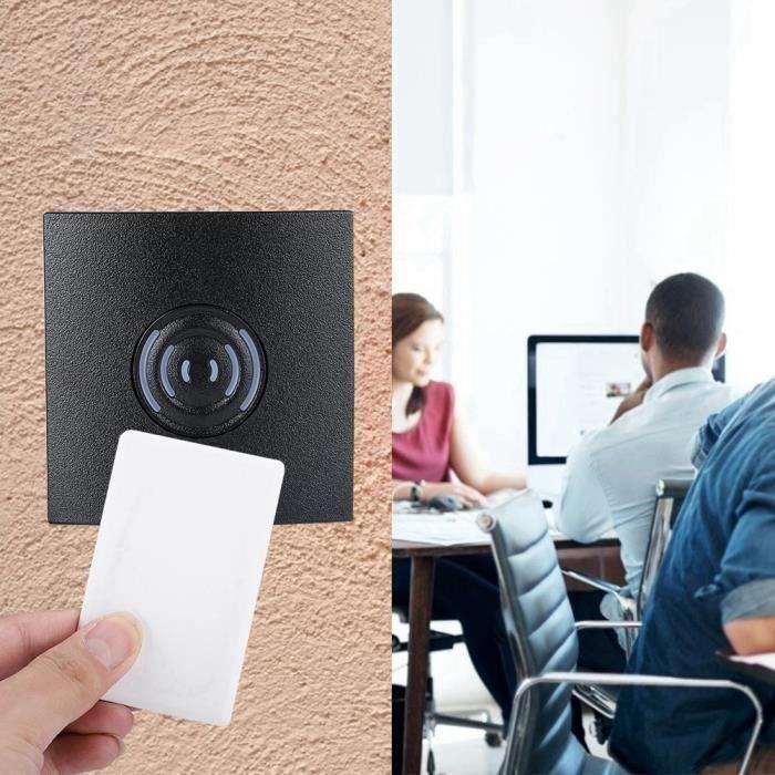 Lecteur cartes extérieur 125KHz Wiegand 26 IP65 RFID système contrôle d\'accès porte
