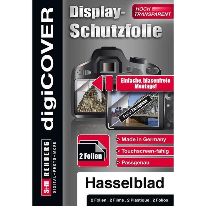 Films de protection d'écran pour caméscopes DigiCover B4398 Protecteur d'affichage de caméra pour Hasselblad X1D-50c Tra 59707