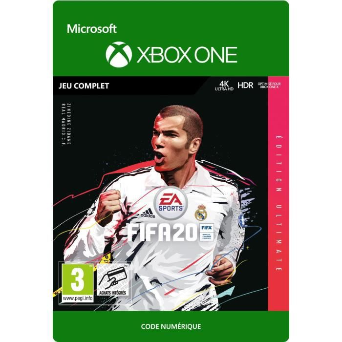 FIFA 20 Ultimate Edition Jeu Xbox One à Télécharger